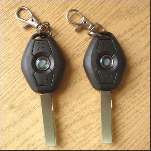 Remote Central Locking Keyless Entry Kit With Key Fobs For